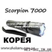 Электрошокер Scorpion 7000 POLICE 2000 watt Корея 2013 года